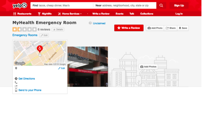 What Can Hospital Yelp Reviews Tell Us About the Patient Experience?