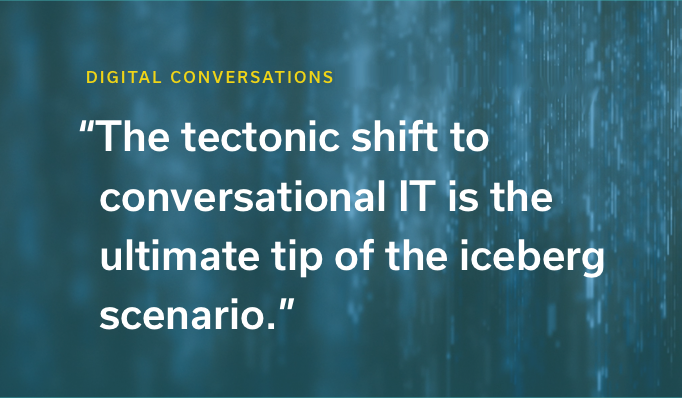 Build vs. Buy and Conversational Engagement: The Ultimate Tip of the Iceberg Scenario