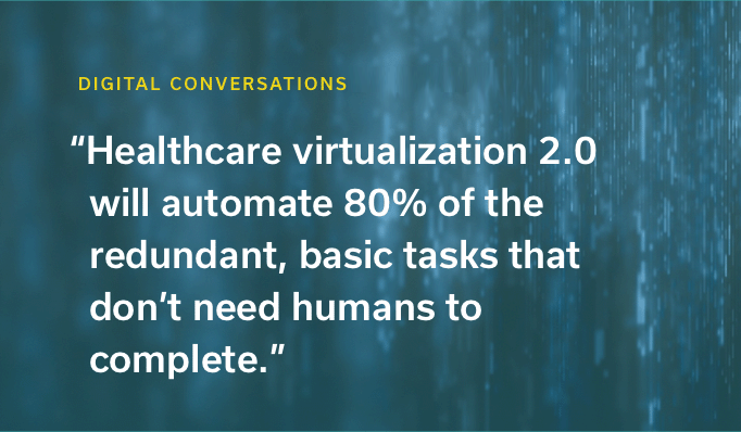 Beyond Telehealth: The Innovation Path to Complete Virtualization for Patients