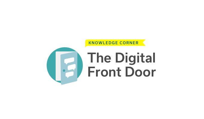 The Digital Front Door for Healthcare