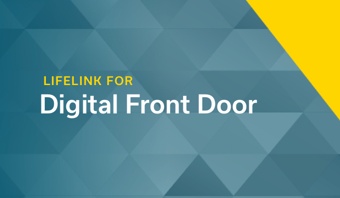 Conversational Patient Engagement for Digital Front Door